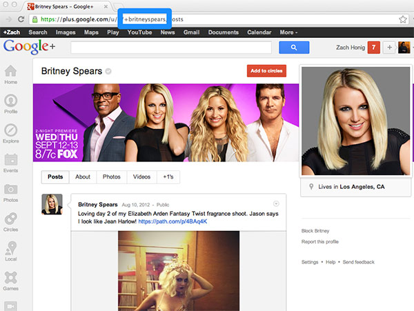 Google+ ofrece URL personalizadas a usuarios verificados