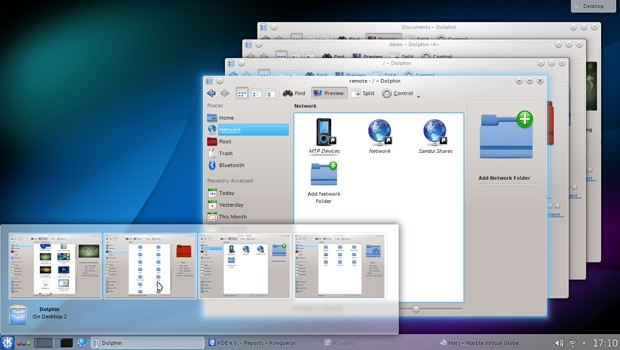 KDE 4.1 Air Theme